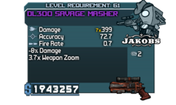DL300 Savage Masher 7x399