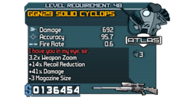GGN29 Solid Cyclops