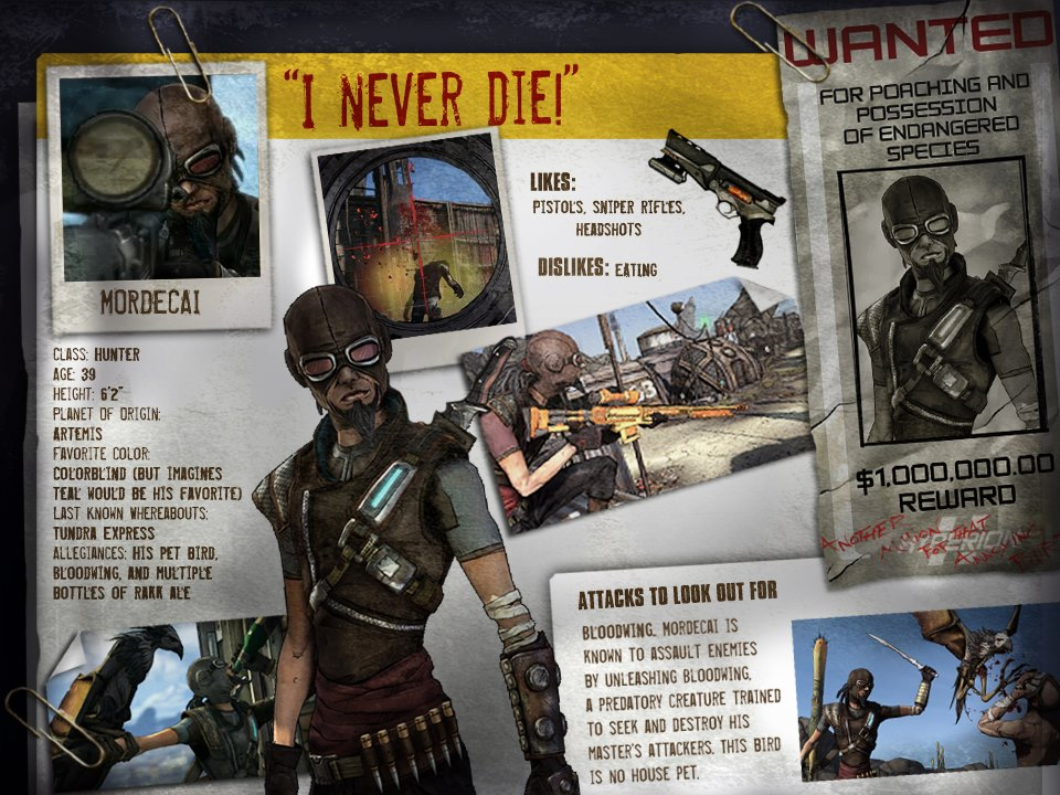 Image mordecai profile jpg borderlands wiki fandom powered by
