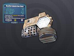 LV 29 Wussified Explosive Nova Shield