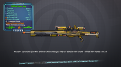 Auditing sniper rifle level 56