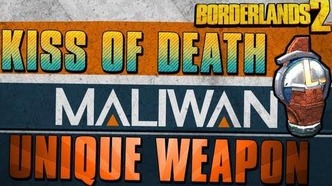 Borderlands 2 - Kiss Of Death - Unique Weapon