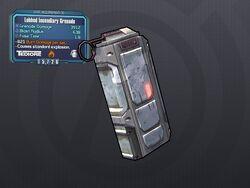 LV 30 Lobbed Incendiary Grenade