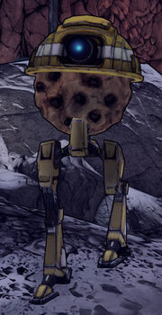 Bltps claptastic character cookie