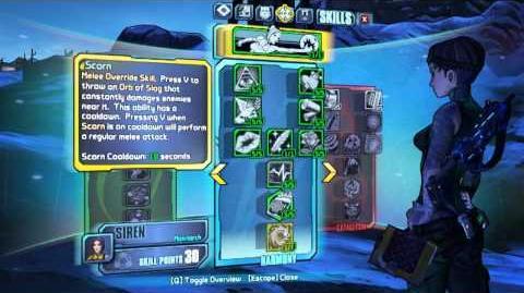 Scorn skill video preview