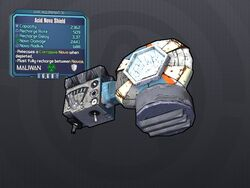 LV 30 Acid Nova Shield