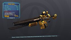 Sledge's Shotty 70 Orange None