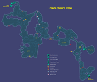 Candlerakk Crag Map