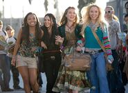 Bratz The Movie Sasha, Jade, Yasmin, and Cloe