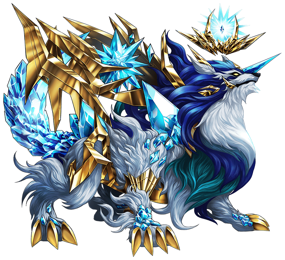 Mystical Wolf Character Brave Frontier Wiki Fandom