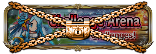 Challenge arena banner closed