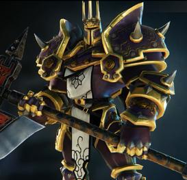 Black Knight purple skin