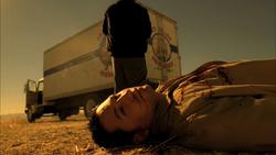 4x4 Los Pollos truck driver