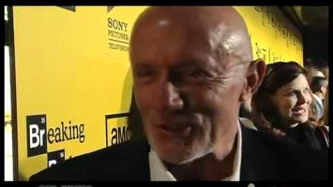 Season 4 red carpet premiere interview - Jonathan Banks