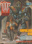 2000 AD prog 563 cover