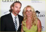 Britney Speard with her Boyfriend Jason