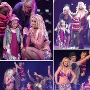 Britney Spears In The Femme Fatale Tour Puerto Rico
