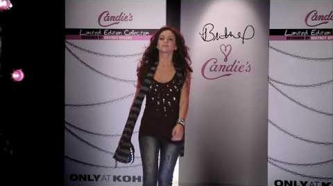 Britney Spears - Candie's Runway Fashion Show