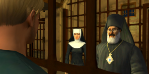 Father Nicolas and Sister Immaculata