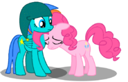 Chelly and pinkiepie