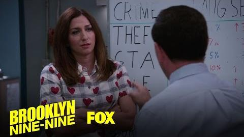 Gina And Charles Discuss The Boyle Family Vacation Season 4 Ep