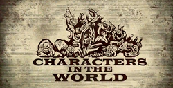 Characters in the World