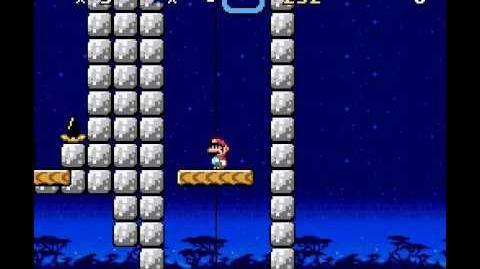 Super Kitiku Mario - Twin Lifts - Secret Exit