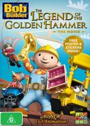 Bob the Builer Legend of the golden hammer