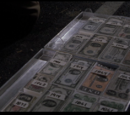 Money suitcase