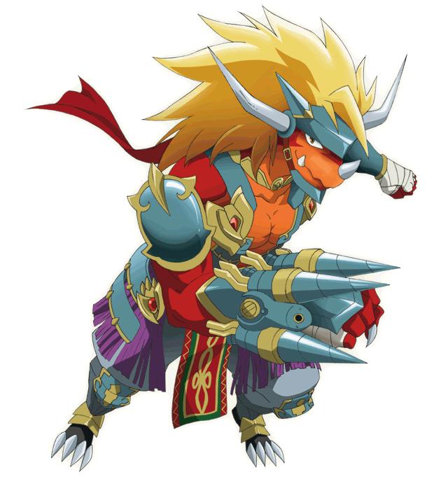 Drum Bunker Dragon Character