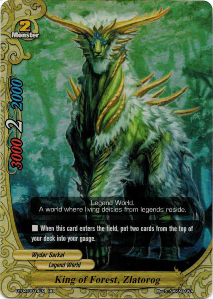 King of Forest, Zlatorog | Future Card Buddyfight Wiki ...