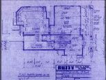 Buffy's house 1st floor blueprint
