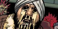 Eyeless man