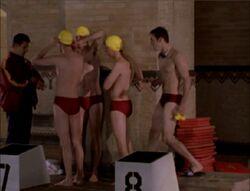 Sunnydale high swim team