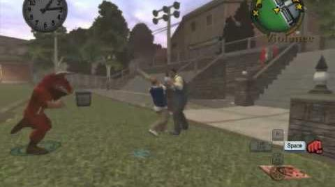 Bully SE Damon in trouble mission recreation