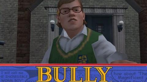 "Bully (PS4 version) - mission ""Character sheets"""