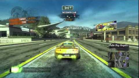 Burnout Paradise - R-Turbo Roadster Burning Route