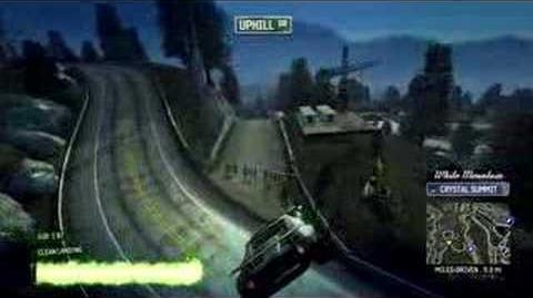 Burnout Paradise Super Jump Guide - White Mountain