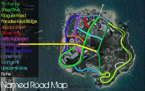Island Roadnames