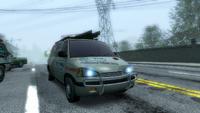 Traffic van repair