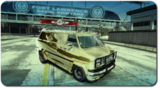 Gold BRT Van