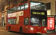 N35 at Tottenham Court Road