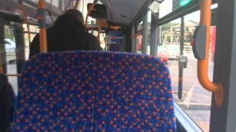 Journey on London Bus Route 498 - 10303 (YY15OYU)