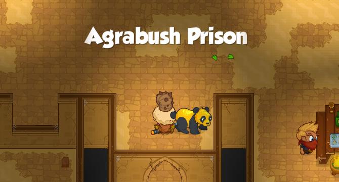Agrabush Prison Banner