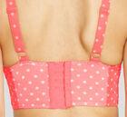 Longline bra back