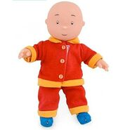 Caillou in Pajamas Plush Toy
