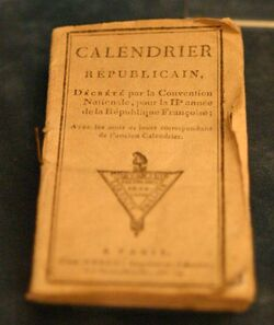 Frenchcalendarbook