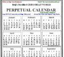 Modified Gregorian Calendar