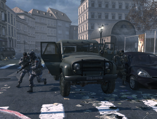 File:Ultranationalists deploying from UAZ MW3.png