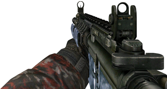 File:M4A1 Blue Tiger MW2.png